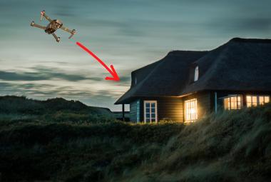 Auto Return Drone