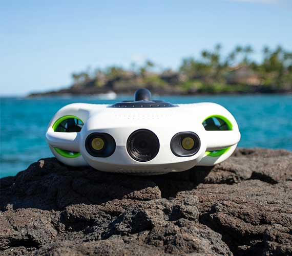 Underwater Drone - YouCan Robot BW Space Pro 4K