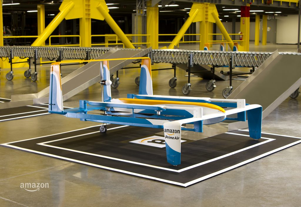How We Can Use Drones To Help The Environment - Amazon Prime Air Delivery Drone